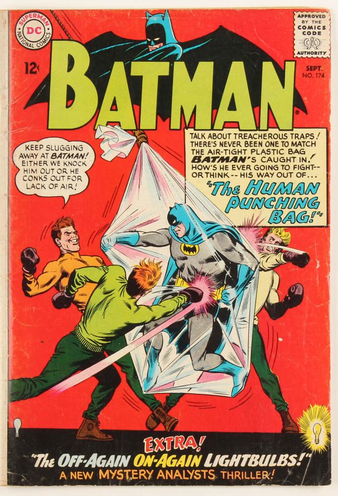"1965 ""Batman"" Issue #174 DC Comic Book at PristineAuction.com"