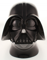 "David Prowse, Brian Muir, & James Earl Jones Signed Star Wars Darth Vader Full-Size Helmet Inscribed ""Darth Vader"", ""Vader Sculptor"", & ""May The Force Be With You"" (ACOA LOA) at PristineAuction.com"
