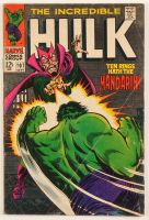 """1968 """"The Incredible Hulk"""" Issue #107 Marvel Comic Book at PristineAuction.com"""