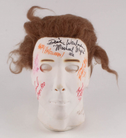 """Halloween"" Michael Myers Full-Size Mask Signed by (9) with Brad Loree, Dick Warlock, Don Shanks, Jim Winburn, Tom Morga, Tyler Mane with Multiple Inscriptions (ACOA Hologram) at PristineAuction.com"