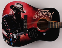 "Chris Stapleton Signed 41"" Acoustic Guitar (Beckett COA) at PristineAuction.com"
