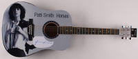 "Patti Smith Signed ""Horses"" 41"" Acoustic Guitar (JSA COA) at PristineAuction.com"