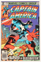 """Mike Zeck Signed 1981 """"Captain America"""" Issue #258 Marvel Comic Book (JSA COA) at PristineAuction.com"""