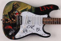"""Live - Throwing Copper"" 39"" Electric Guitar Signed by (4) with Patrick Dahlheimer, Chad Gracey, Ed Kowalczyk & Chad Taylor (PSA LOA) at PristineAuction.com"