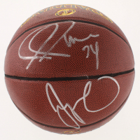 Paul Pierce & Jayson Tatum Signed NBA Basketball (PSA COA) at PristineAuction.com
