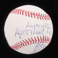 "Artimus Pyle Signed OML Baseball Inscribed ""Lynyrd Skynyrd Drums"", ""RVZ"", & ""RRHOF 2006"" (ACOA Hologram) at PristineAuction.com"