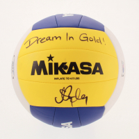 "Misty May-Treanor Signed Volleyball Inscribed ""Dream in Gold!"" (PSA COA) at PristineAuction.com"