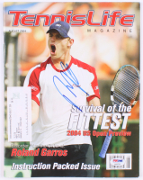 Andy Roddick Signed 2004 Tennis Life Magazine (PSA COA) at PristineAuction.com