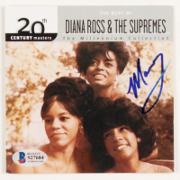 "Mary Wilson Signed ""The Best Of Diana Ross & The Supremes"" CD Booklet (Beckett COA) at PristineAuction.com"