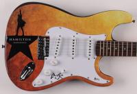 "Lin-Manuel Miranda Signed ""Hamilton"" 39"" Electric Guitar (Beckett COA) at PristineAuction.com"