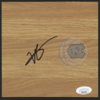 Vince Carter Signed North Carolina Tar Heels 6x6 Vinyl Floor Tile (JSA COA) at PristineAuction.com