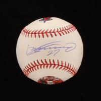 Vladimir Guerrero Signed Angels Logo OML Baseball (PSA COA) at PristineAuction.com