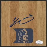 Cam Reddish Signed Duke Blue Devils 6x6 Vinyl Floor Tile (JSA COA) at PristineAuction.com