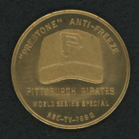 Vintage 1960 World Series Coin at PristineAuction.com