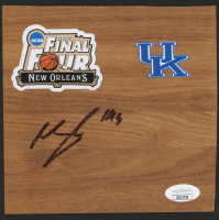 "Michael Kidd-Gilchrist Signed Kentucky Wildcats ""2012 Final Four"" 6x6 Vinyl Floor Tile (JSA COA) at PristineAuction.com"