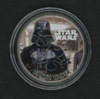 """Vintage """"Star Wars"""" Darth Vader Colorized Quarter at PristineAuction.com"""