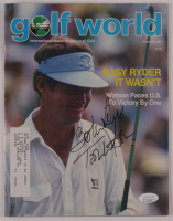 "Tom Watson Signed 1983 ""Golf World"" Magazine Inscribed ""Best Wishes"" (JSA COA) at PristineAuction.com"