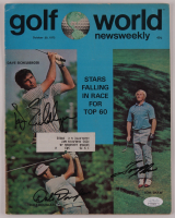 "Dave Eichelberger, Dale Douglass & Tom Shaw Signed 1972 ""Golf World"" Magazine (JSA Hologram) at PristineAuction.com"