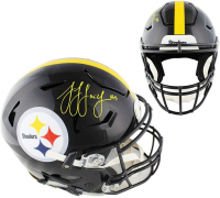 JuJu Smith-Schuster Signed Steelers Full-Size Authentic On-Field SpeedFlex Helmet (Beckett COA) at PristineAuction.com