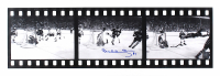 "Bobby Orr Signed Bruins ""The Flying Goal"" 3-Image Filmstrip 7x25 Photo (Orr COA) at PristineAuction.com"