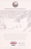 "Bobby Orr Signed Bruins ""The Flying Goal"" 3-Image Filmstrip 7x25 Photo (Orr COA) at PristineAuction.com"