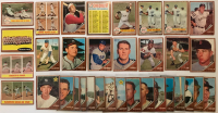 Lot of (34) 1962 Topps Baseball Cards with #350 Frank Robinson, #313 Roger Maris In Action, #232 Yanks Win Opener, #235 World Series Game 4 / Whitey Ford, #277 Checklist 4 at PristineAuction.com