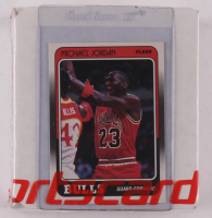 Complete Set of (132) 1988-89 Fleer Basketball Cards with Michael Jordan #17 at PristineAuction.com