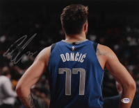 Luka Doncic Signed Mavericks 11x14 Photo (PSA COA) at PristineAuction.com