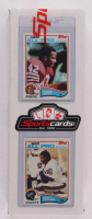 Complete Set of (528) 1982 Topps Football Cards with Ronnie Lott #486 RC & Lawrence Taylor #434 RC at PristineAuction.com
