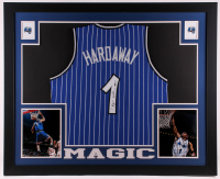 Penny Hardaway Signed 35.5x43.5 Custom Framed Jersey Display (JSA COA) at PristineAuction.com