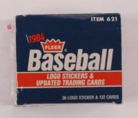 1984 Fleer Logo Updated Trading Cards Set of (132) Baseball Cards at PristineAuction.com