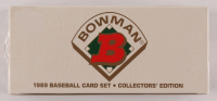 1989 Bowman Tiffany Complete Set of (495) Baseball Cards at PristineAuction.com