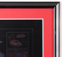 """Sam Bass Signed LE """"Dale Earnhardt Special"""" 24x37 Custom Framed Lithograph Display (PA LOA) at PristineAuction.com"""