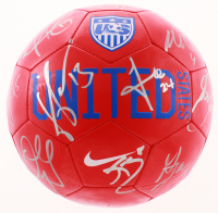 Team USA Soccer Ball Team-Signed by (17) with Alexi Lalas, Bruce Arena, Clint Dempsey, DeAndre Yedlin (JSA ALOA) at PristineAuction.com