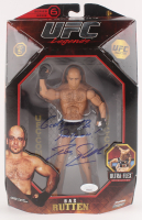 "Bas Rutten Signed UFC Legends Action Figure Inscribed ""Godspeed"" & ""Party On"" (JSA COA) at PristineAuction.com"