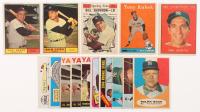 Lot of (15) Yankees Baseball Cards with 1961 Topps #425 Yogi Berra, 1961 Topps #563 Bob Cerv, 1961 Topps #568 Bill Skowron, 1961 Topps #471 Phil Rizzuto MVP, 1958 Topps #393 Tony Kubek at PristineAuction.com