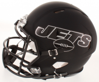 """Le'Veon Bell Signed Jets Full-Size Authentic On-Field Black Matte Speed Helmet Inscribed """"Jet Up"""" (JSA COA) at PristineAuction.com"""