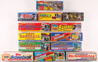 Lot of (13) Assorted Topps Baseball Sets at PristineAuction.com