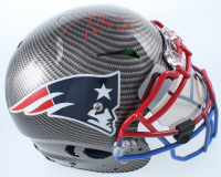 Tom Brady Signed LE Patriots Full-Size Authentic On-Field Hydro-Dipped Vengeance Helmet with Visor (TriStar Hologram & Steiner Hologram) at PristineAuction.com