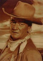"John Wayne ""El Dorado"" 13x18 Photo On Canvas at PristineAuction.com"