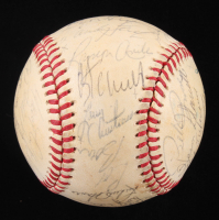 1979 Phillies ONL Baseball Team-Signed by (32) with Pete Rose, Tug McGraw, Larry Bowa, Kent Tekulve, Lonnie Smith, Greg Luzinski (SOP LOA) at PristineAuction.com