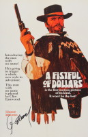 """Clint Eastwood Signed """"A Fistful of Dollars"""" 11x17 Poster (PSA LOA) at PristineAuction.com"""