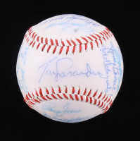 1984 Dodgers ONL Baseball Team-Signed by (22) with Tommy Lasorda, Fernando Valenzuela, Orel Hershiser, Jerry Reuss, Bill Russell (SOP LOA) at PristineAuction.com
