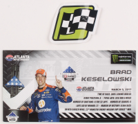 Brad Keselowski Signed LE #2 AutoTrader Atlanta Win 2017 Fusion 1:24 Scale Die Cast Car (JSA COA) at PristineAuction.com