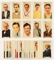 "1935 Godfrey Phillips ""In the Public Eye"" Complete Set of (54) Cigarette Cards with #6 James Braddock, #25 Max Baer, #53 Winston Churchill, #12 Fred Perry, #3 Henry Cotton at PristineAuction.com"