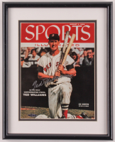 Ted Williams Signed 12x15 Custom Framed Photo Display (UDA COA) at PristineAuction.com