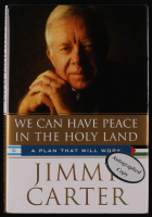 "Jimmy Carter Signed ""We Can Have Peace In The Holy Land: A Plan That Will Work"" Hardcover Book (JSA Hologram) at PristineAuction.com"