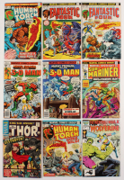Lot of (9) 1966 - 1986 Marvel Comic Books at PristineAuction.com