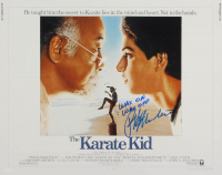 "Ralph Macchio Signed ""The Karate Kid"" 16x20 Photo Inscribed ""Wax On Wax Off"" (AutographCOA Hologram) at PristineAuction.com"