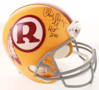 "Chris Hanburger Signed Redskins Throwback Full-Size Helmet Inscribed ""HOF 2011"" (Beckett COA) at PristineAuction.com"